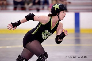 I was primarily a jammer with my old league. (Photo by John Wijsman)