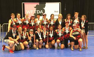 2017 WFTDA D2 Third Place
